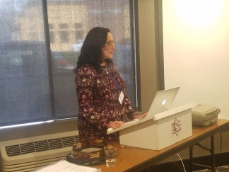 Dr. Andrea Fishman delivered a very interesting and informative talk on Sephardic music of Spain and the Balkans. Click this link to see some video from this session: https://drive.google.com/file/d/1pn4Bg7dY06CssfCnhYfDv8AaGV-8Lfch/view?usp=sharing