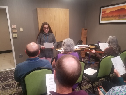 Our youngest presenter (and our own member) Rebecca Ireland presented on The Newest Jewish Song. Click this link to see some video from this session: https://drive.google.com/file/d/1yHEn2x1rQCajmqePeco8b3oC6xxE93Og/view?usp=sharing
